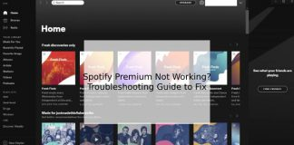 Spotify Premium Not Working