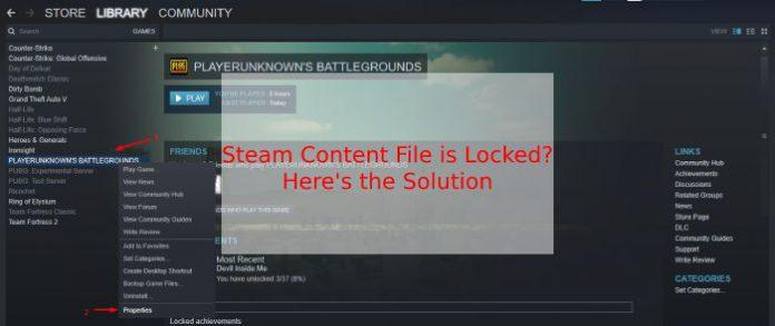 Fix Steam Content File