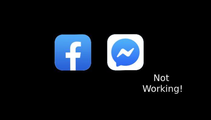 facebook messager not working