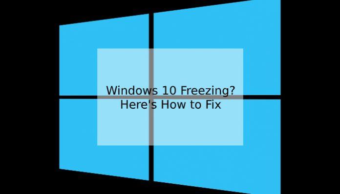 windows 10 freezing