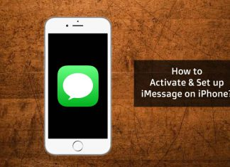 iMessage on iPhone