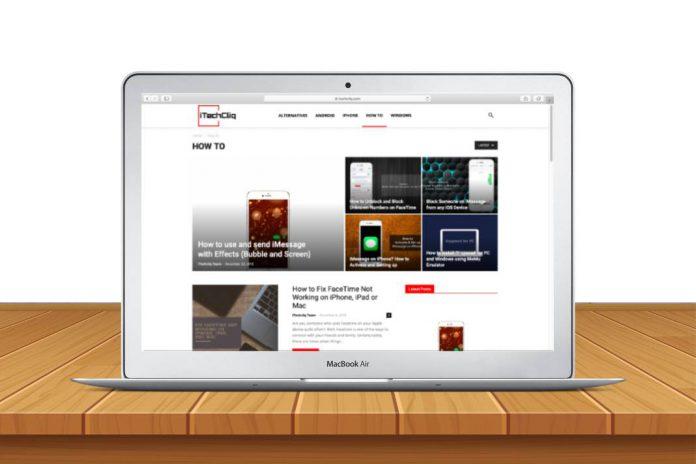 block website on safari