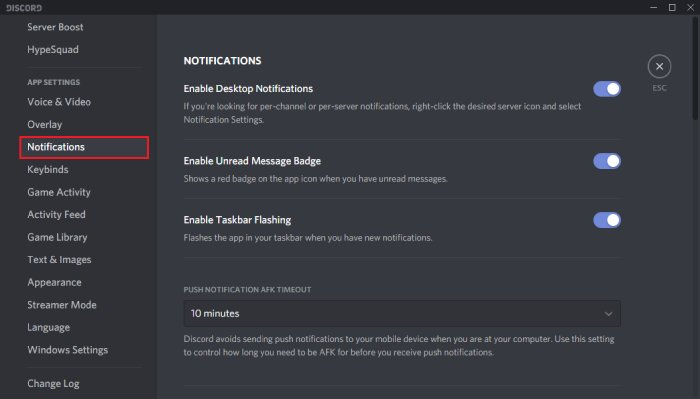 how to turn off text to speech in discord