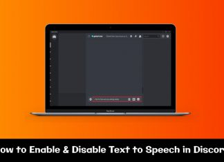 Discord Text to Speech