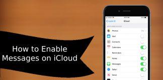 iMessage on iCloud