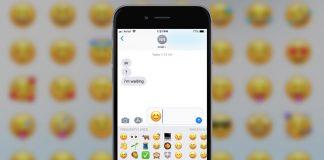 emoji on iPhone