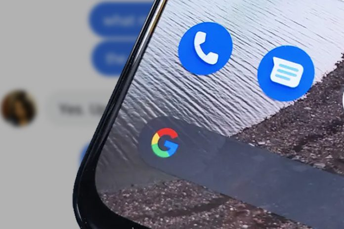 Google is testing the iMessage reaction feature