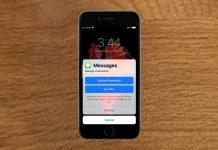 iMessage notifications