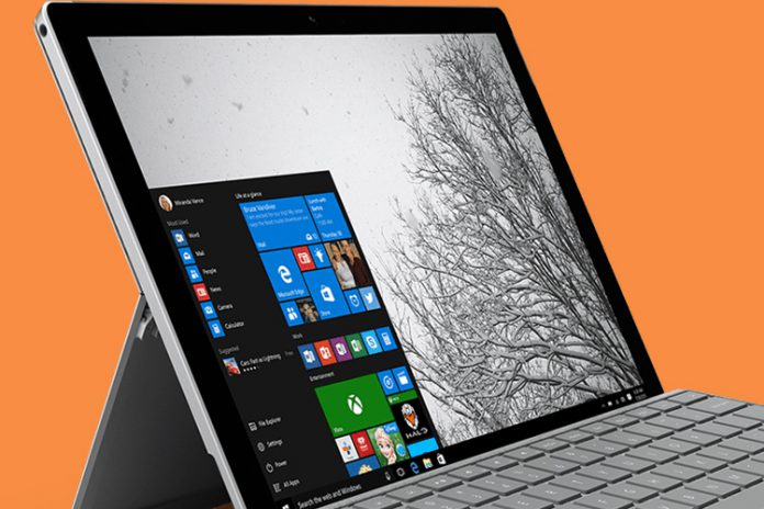 security firmware update for Surface Pro 4
