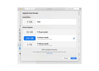 refund iCloud storage