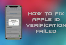 How to fix Apple ID verification failed unknown error in iOS