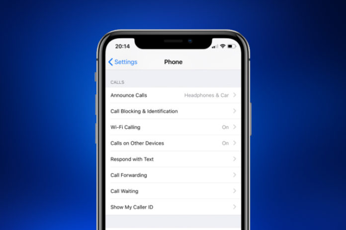 Announce Calls on iPhone