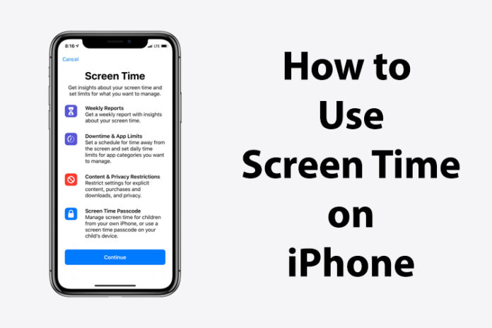 screen time on iPhone