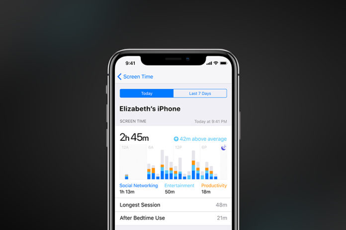 screen time not working