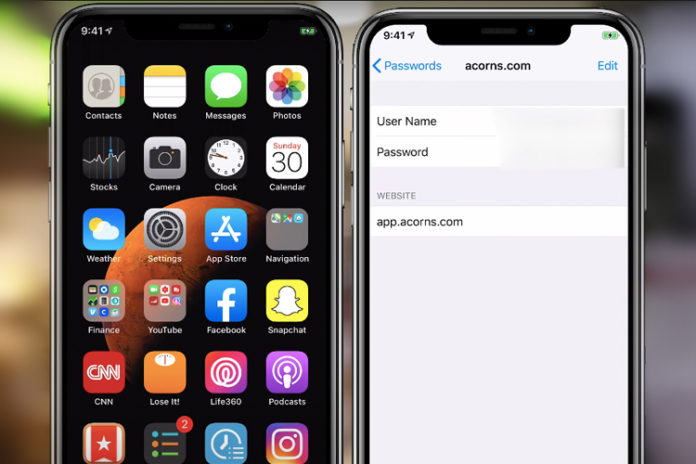 Find and View Saved Passwords on your Apple iPhone