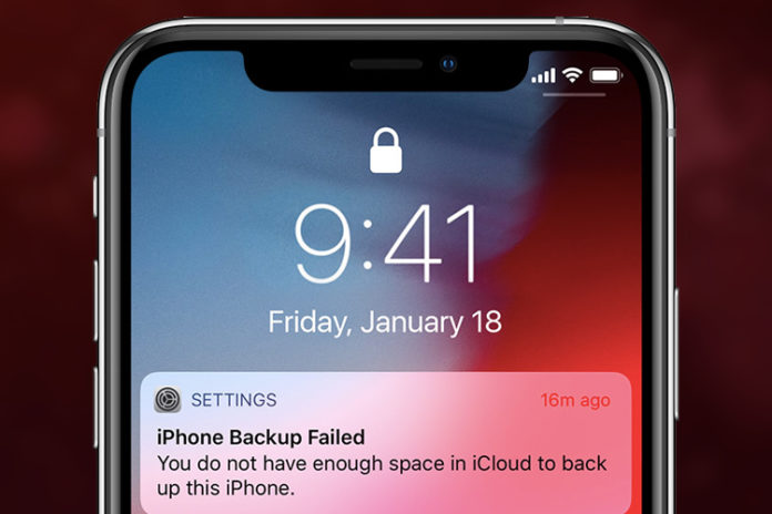 How to Fix iCloud Backup Failed on iPhone