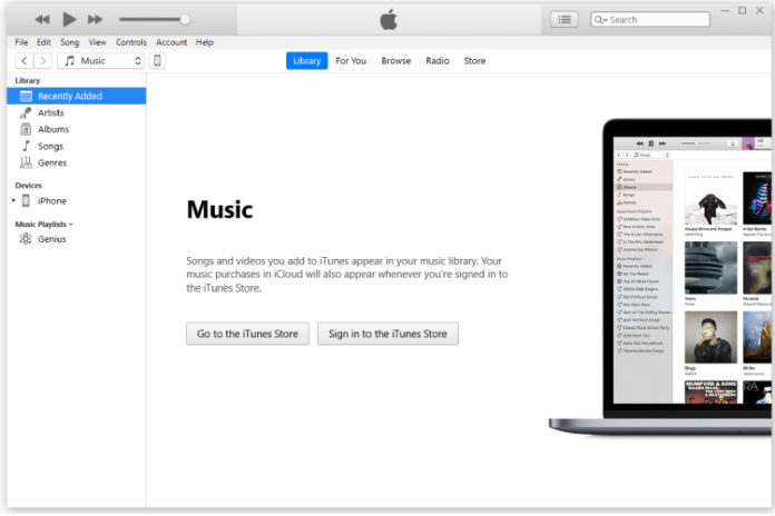 Reset iTunes Library in Windows