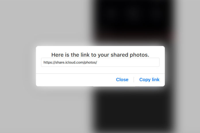 fix iCloud link not loading issue