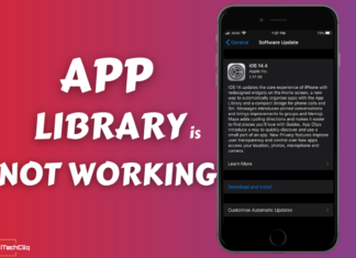 Fix App Library Not Working Issue