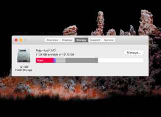 Purgeable Files on Mac