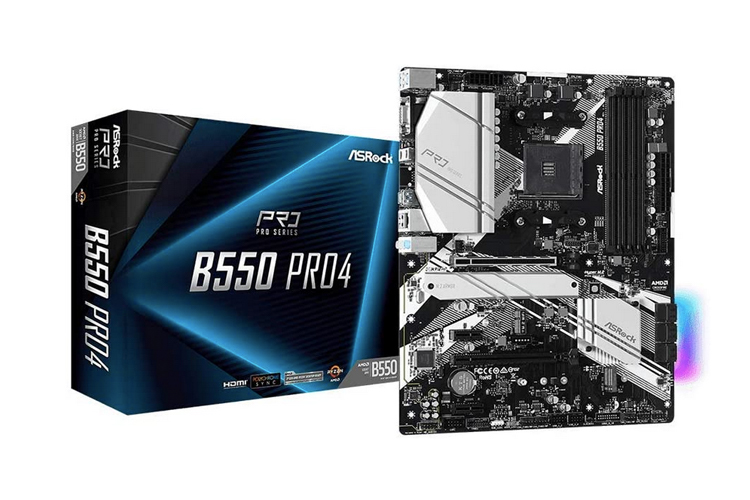 ASRock B550 PRO4 Processor