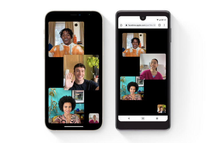 New web link Feature in FaceTime