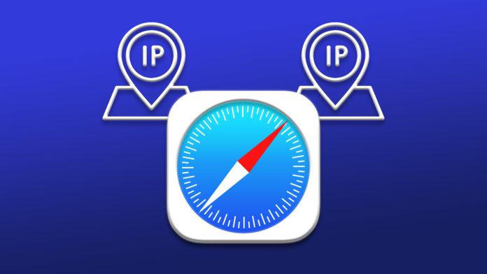 hide IP Address in Safari in iOS 15