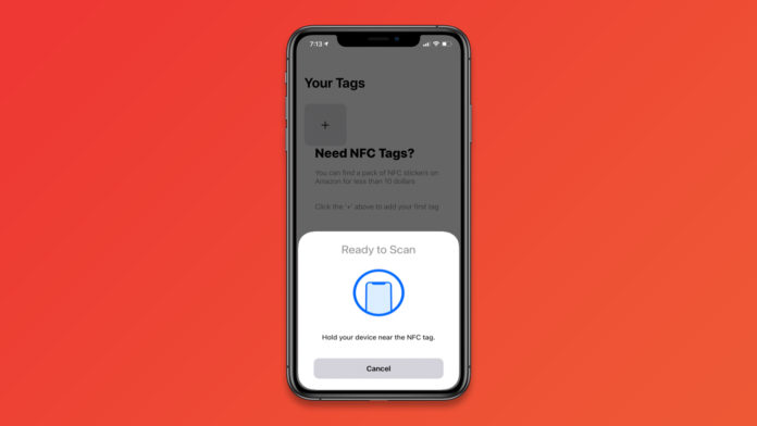 How to use NFC tag reader in iOS 15