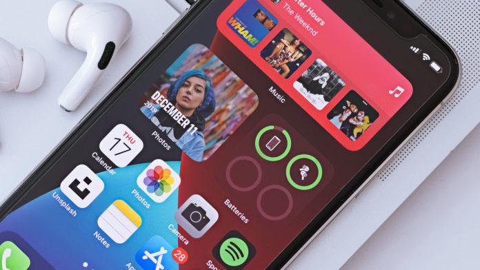 iPhone Home Screen Widgets in iOS 15
