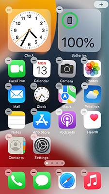 Set Home Screen Widgets on iPhone