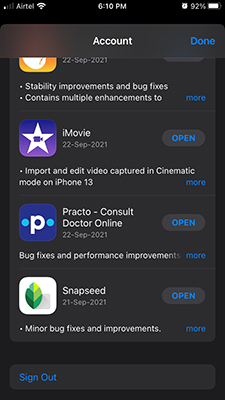 App Store Account