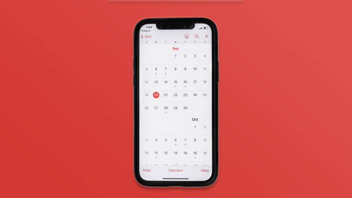 Remove Calendar App virus from the iPhone